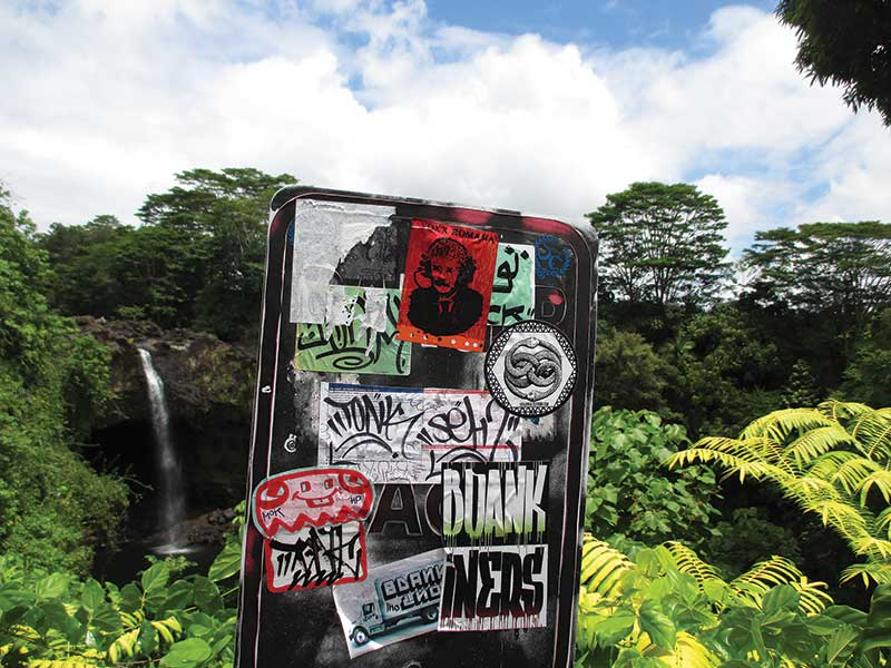 Hawaii Street Art Graffiti Book - Preview 11